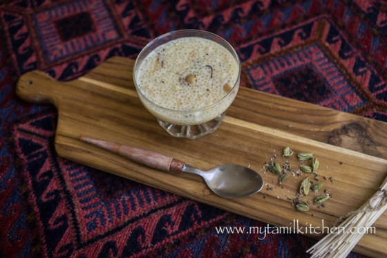 how to make vermicelli milk payasam
